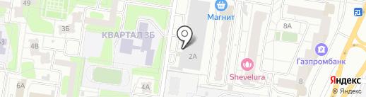 Вентзаготовка на карте Тольятти