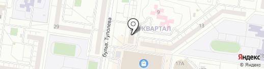Горница на карте Тольятти