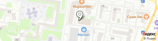 Лотос на карте Тольятти