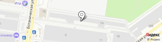 АвтоЛайн на карте Тольятти