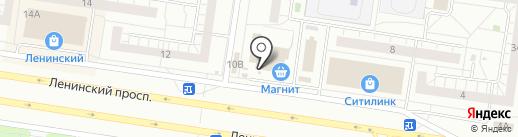 Умелица на карте Тольятти