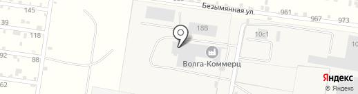 Волга-Коммерц на карте Русской Борковки