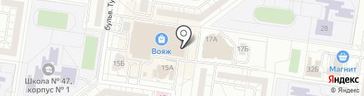 Альянс 01 на карте Тольятти