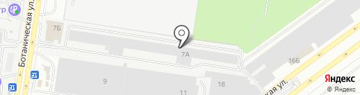 Поршень на карте Тольятти