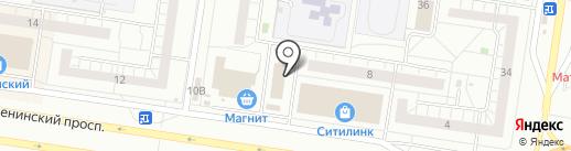Мастерская на карте Тольятти
