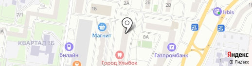 Жукова-6, ТСЖ на карте Тольятти