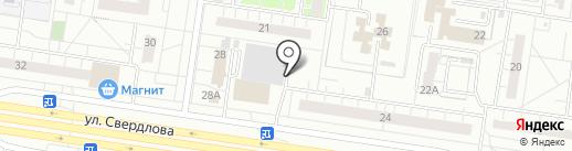 По карману на карте Тольятти