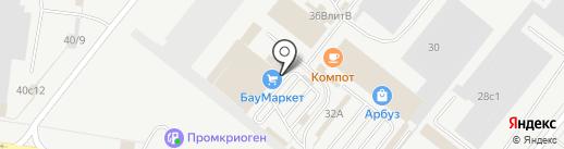 Шатура на карте Тольятти