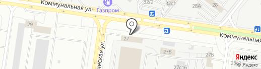 Технологии проминдустрии на карте Тольятти
