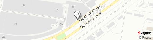 Магазин спецодежды на карте Тольятти