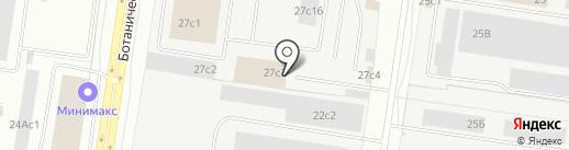 Аксол на карте Тольятти