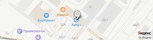 Дом кафеля на карте Тольятти