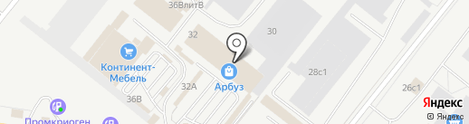 Ампераж на карте Тольятти