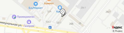 ИмперияПара на карте Тольятти