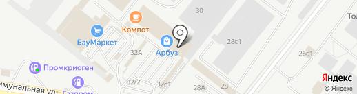 ЗИЗИТЕК на карте Тольятти