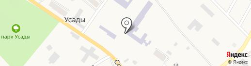 Профессиональное училище №70 на карте Усадов
