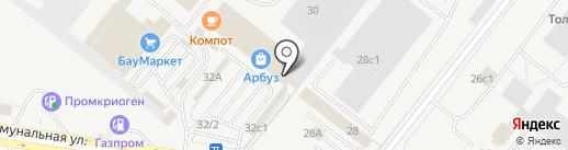 Простор на карте Тольятти