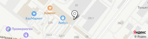 Blum на карте Тольятти