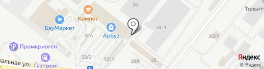 Магазин инструментов на карте Тольятти