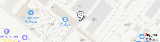 Газ и тепло на карте Тольятти