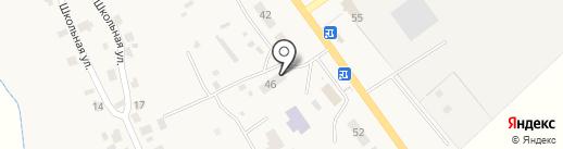 Радуга на карте Усадов