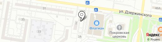АРГО на карте Тольятти