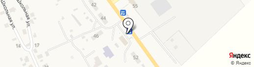 Магазин товаров смешанного типа на карте Усадов