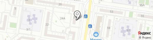 Магазин строительных материалов на карте Тольятти