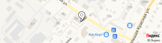 Управление Пенсионного фонда России в Высокогорском районе на карте Высокой Горы