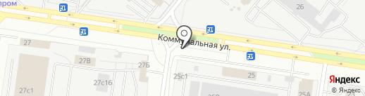 Реал Моторс+ на карте Тольятти