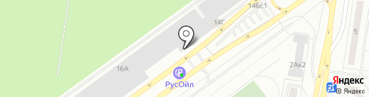 АвтоОбувь на карте Тольятти