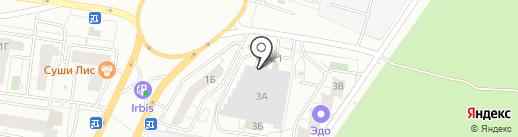 К4 Спорт-Поволжье на карте Тольятти