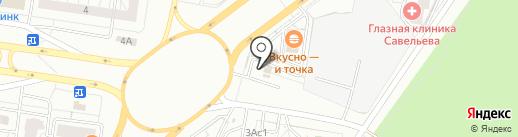 Mars на карте Тольятти