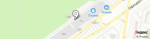 Шар на карте Тольятти