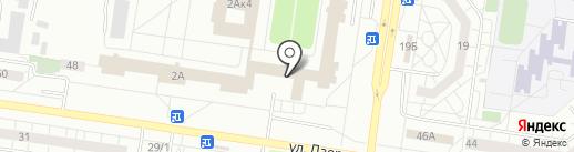 Военный комиссариат Автозаводского района города Тольятти Самарской области на карте Тольятти