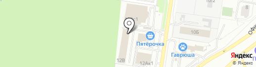 АВГУСТ КЛИМАТ на карте Тольятти
