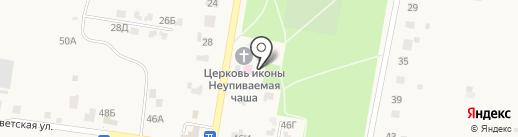 Отделение общей врачебной практики на карте Русской Борковки