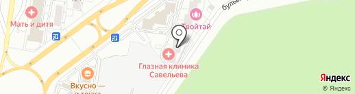 Авеню на карте Тольятти