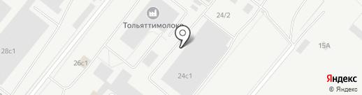 Лидер-Профи на карте Тольятти