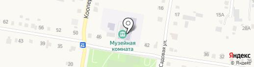 Средняя общеобразовательная школа на карте Русской Борковки