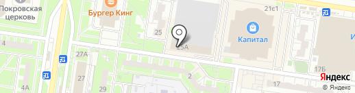 Шоу-рум Анны Курылиной на карте Тольятти