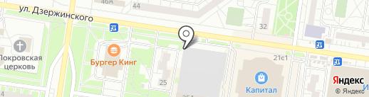 уДачный на карте Тольятти