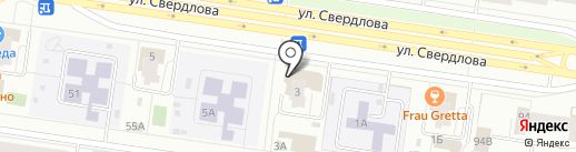 Яснодом на карте Тольятти