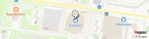 МиниМода на карте Тольятти