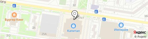 Ovinos на карте Тольятти