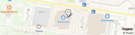 Белка на карте Тольятти