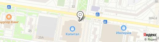 Поляна на карте Тольятти
