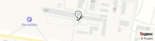 Строй-кровля на карте Русской Борковки
