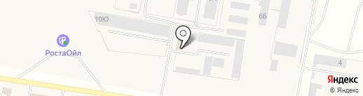 Клининг Практик на карте Русской Борковки