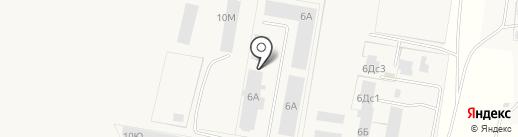 Брозе Тольятти Автомотив на карте Русской Борковки